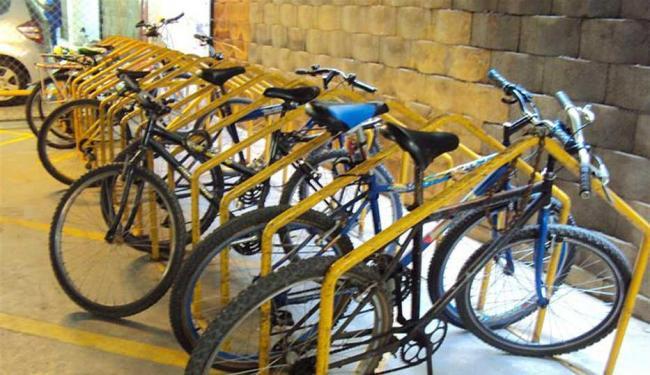 Paraciclo do Salvador Shopping é bem avaliado por ciclistas que frequentam o centro de compras - Foto: Ana Elisa Assunção   Arquivo Pessoal