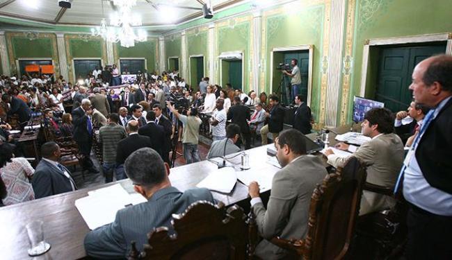 Pelo prazo regimental, vereadores têm até amanhã para votar a Reforma Tributária - Foto: Fernando Amorim | Ag. A TARDE