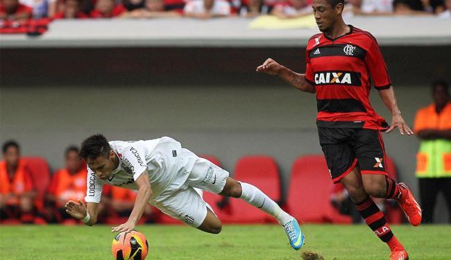 Apesar de dominar o jogo contra o Santos, faltou gol - Foto: Agência Reuters