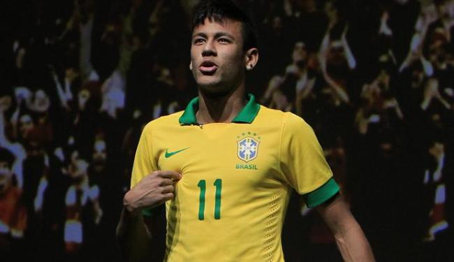 Neymar viaja para a Espanha no domingo a noite para fazer exames médicos - Foto: Antonio Lacerda / Agência EFE