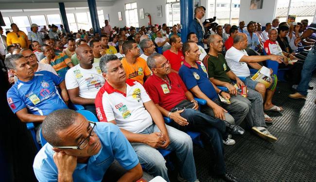 Categoria tem assembleia marcada para a próxima quarta-feira - Foto: Marco Aurélio Martins   Ag. A TARDE