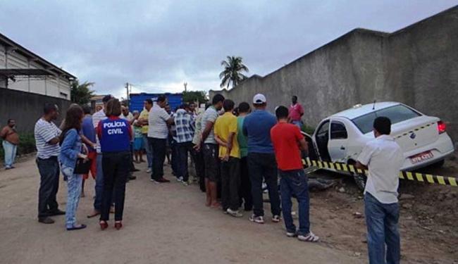 Luciano Santos foi vítima de um assaltante - Foto: Aldo Matos | Acorda Cidade