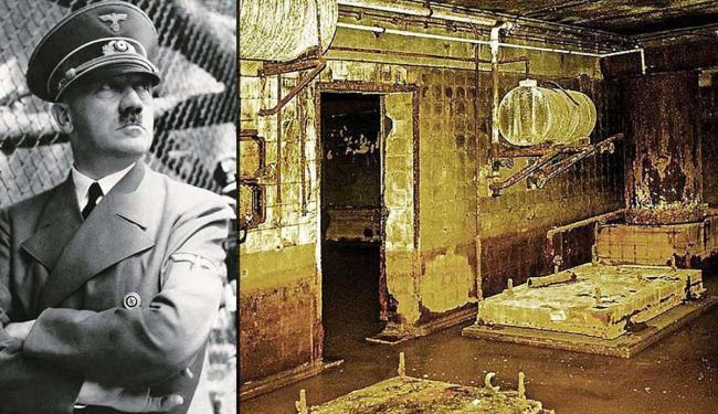 Últimas fotos das ruínas do bunker de Hitler, secretamente registradas no verão 1987 por Robert Conr - Foto: Reprodução | Jornal Bild