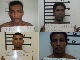 Fugitivos respondem por assaltos e homicídios - Foto: Itamaraju Notícias