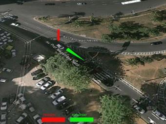 Mapa do acesso que será interditado - Foto: Reprodução | Google Maps