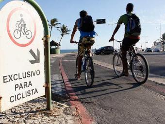 Andar de bicicleta ajuda na melhora do desempenho cardiovascular - Foto: Joá Souza | Ag. A TARDE