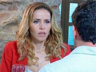 Glauce faz questão de relembrar o dia do nascimento do filho de Bruno - Foto: TV Globo | Divulgação