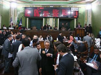 Vereadores conseguiram aprovar a reforma tributária na madrugada desta quinta - Foto: Fernando Amorim | Ag. A TARDE