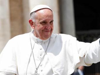 Pergunta sobre a Francisco partiu de uma criança - Foto: Agência Reuters