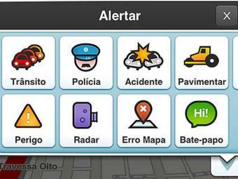 Aplicativo traz informações em tempo real sobre o trânsito - Foto: Reprodução