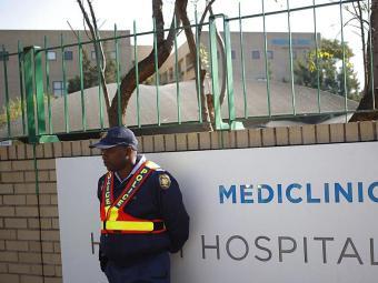 Mandela permanece internado sob esquema de segurança - Foto: Agência Reuters
