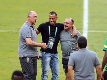 Cafu esteve no último treino da Seleção - Foto: Jefferson Bernardes | Divulgação | VIPCOMM