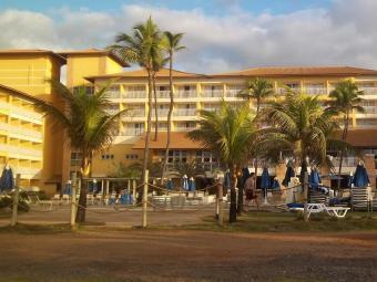 Marketing do Gran Hotel Stella Maris, onde a Seleção vai se hospedar, nega adesão à greve - Foto: Reprodução | Vinícius S. Santos
