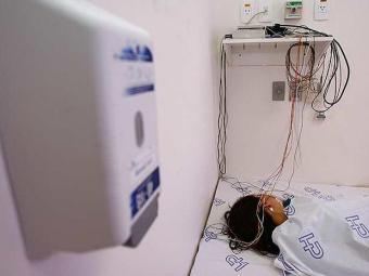 Laboratório do Sono do H. Português, em Salvador - Foto: Iracema Chequer | Ag. A TARDE
