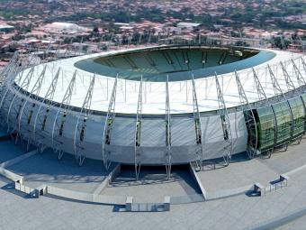 Imagem do projeto da arena - Foto: Divulgação
