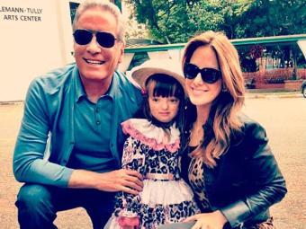 Casados há sete anos, Ticiane e Justus são pai de Rafaella, de 3 anos - Foto: Instagram   Divulgação