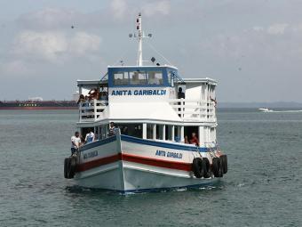 Na travessia Mar Grande-Salvador, 13 embarcações operam durante o feriado - Foto: Haroldo Abrantes | Arquivo | Ag. A TARDE