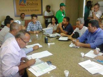 Entidades se reúnem com secretário da Agricultura - Foto: Suâmi Dias | Divulgação