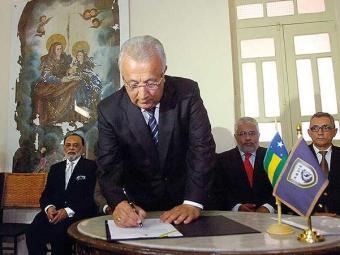 Governador Jackson Barreto assinou protocolo de intenções na quinta - Foto: Divulgação
