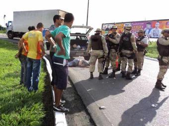 Marcos Pimentel foi morto enquanto recolhia dinheiro do posto onde trabalhava - Foto: Jacuípe Notícias | Reprodução