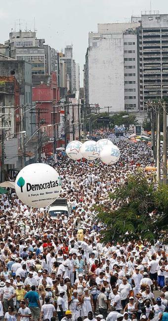 Balões de publicidade serão vetados nos festejos - Foto: Lúcio Távora   Ag. A TARDE