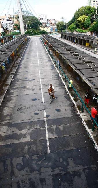 Movimento na Estação da Lapa, na greve dos rodoviários em 2012 - Foto: Fernando Vivas | Ag. A TARDE