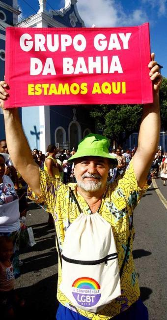 Ex-presidente do Grupo Gay da Bahia, Luiz Mott - Foto: Fernando Vivas   Ag. A TARDE