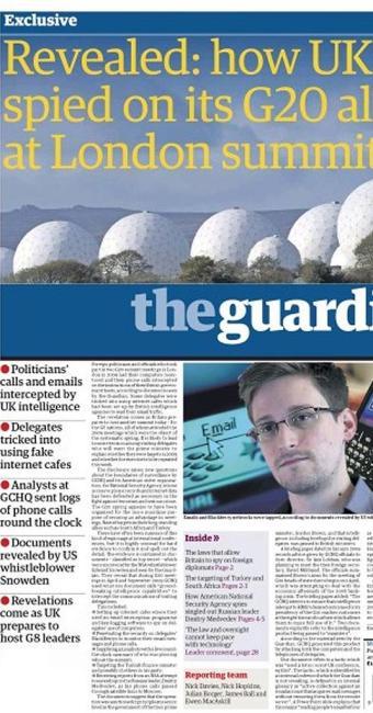 Edição do The Guardian desta segunda, 17 - Foto: Reprodução