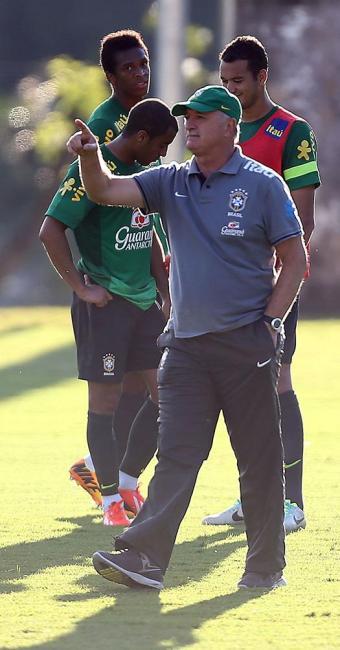 Luiz Felipe Scolari diz que única novidade será o retorno de Paulinho - Foto: Jefferson Bernardes | Divulgação | VIPCOMM