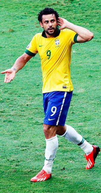 Atacante foi o auto do primeiro gol do time brasileiro - Foto: Agência Reuters