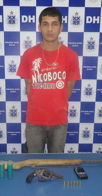 Chopim confessou a morte de um adolescente de 16 anos e responde por outros dois homicídios - Foto: Polícia Civil | Divulgação