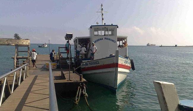 Travessia para Mar Grande segue com movimento tranquila - Foto: Edilson Lima | Ag. A TARDE
