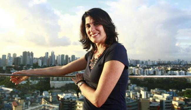 Anna Penido, que pretende transformar o Rio Vermelho no primeiro bairro-escola de Salvador - Foto: Fernando Vivas | Ag. A TARDE