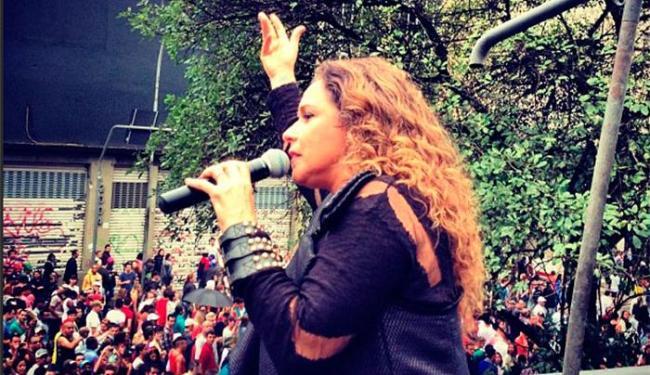 Trio-elétrico de Daniela atrai o maior número de seguidores que ocupam a Avenida Paulista - Foto: Instagram | Reprodução