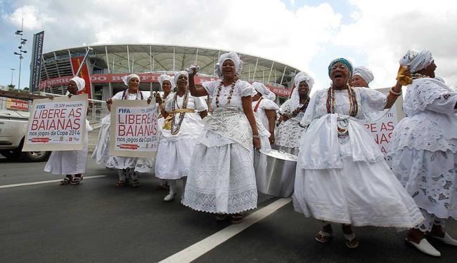 Liberação acontece após uma série de protestos das baianas - Foto: Lúcio Távora   Ag. A TARDE