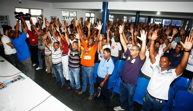 Sindicato informou que vai respeitar o prazo de 72 horas para dar início ao movimento - Foto: Margarida Neide / Agência A TARDE