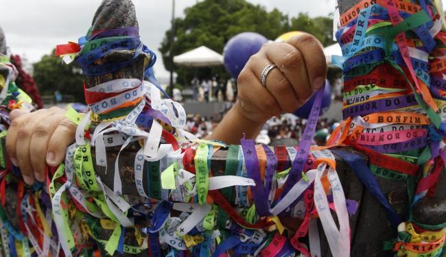 Festa do Bonfim atrai multidões e junta católicos e adeptos do candomblé - Foto: Lúcio Távora | Ag. A TARDE