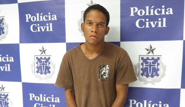 Thiago foi preso em Jequié, quando era tratado em hospital após ser baleado durante assalto - Foto: Polícia Civil | Divulgação