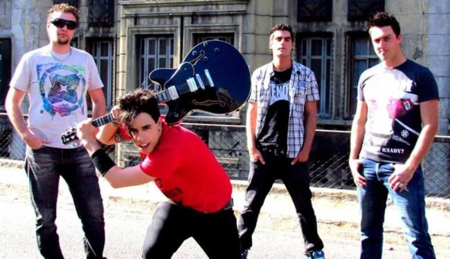 Banda de rock paulista gravou videoclipe em vários bairros de Salvador - Foto: He Saike   Divulgação