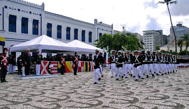 Solenidade no 2º Distrito Naval é uma tradição preservada pela Marinha do Brasil - Foto: Divulgação | Marinha do Brasil