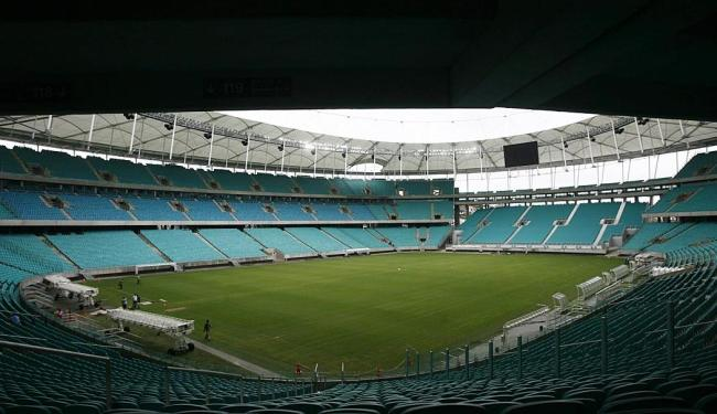 Arena Fonte Nova receberá seu primeiro jogo no dia 20: Nigéria x Uruguai, às 19h - Foto: Raul Spinassé | Ag. A TARDE
