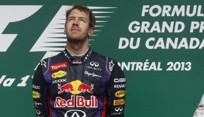 Vettel usou o seu twitter para dizer que estava 'tristíssimo