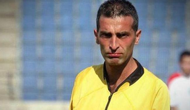 O libanês Ali Sabbagh, 34 anos, chegou a apitar partidas das eliminatórias asiáticas para a Copa - Foto: Divulgação