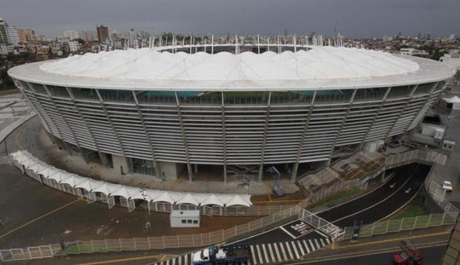 Ambulantes e novos empreendimentos estão proibidos num raio de dois quilômetros do estádio - Foto: Lúcio Távora | Ag. A TARDE