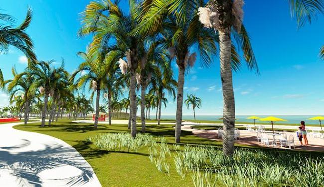Imagem mostra como ficará a Orla da Boca do Rio - Foto: Reprodução