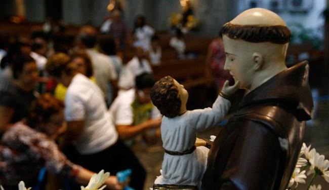 Santuário de Irmã Dulce, na Cidade Baixa, volta a ser palco de uma missa festiva - Foto: Fernando Amorim | Ag. A TARDE