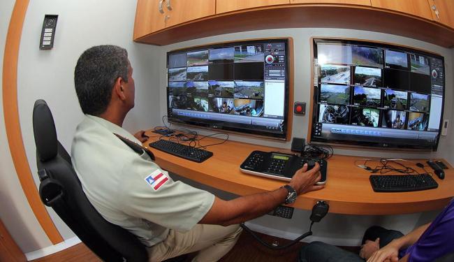 Centro de comando reúne todas as unidades encarregadas da segurança durante o torneio - Foto: Manu Dias | Divulgação | GOVBA