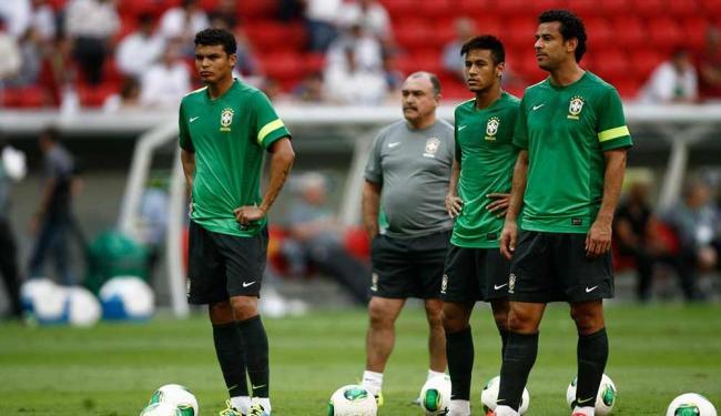 Seleção encerrou preparação no gramado do Mané Garrincha, local do jogo contra o Japão - Foto: Raúl Spinassé   Ag. A TARDE