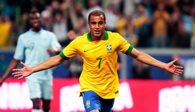 Lucas foi reserva nos dois últimos amistosos da seleção brasileira - Foto: Neco Varella | Agência EFE