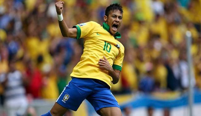 Número 10 da Seleção Brasileira, Neymar marcou logo aos três minutos do primeiro tempo - Foto: Ueslei Marcelino / Agência Reuters